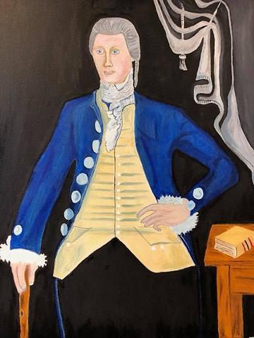 A Study of James Blakeslee Reynolds Reuben Moulthrop (1763-1814) By Reuben Moulthrop