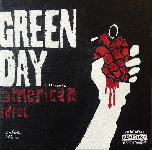 American Idiot Album Cover