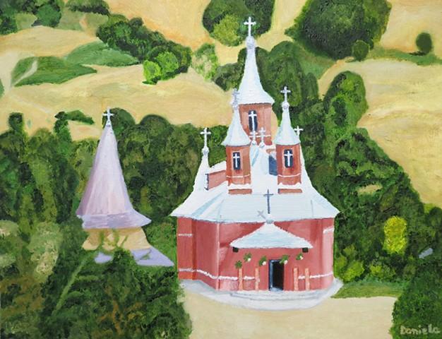 Holy Trinity Monastery Moisene, Romania
