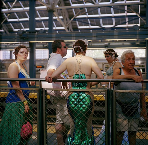 Mermaids in the Station