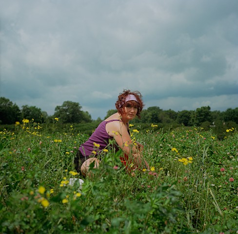 Mom in Strawberry Fields