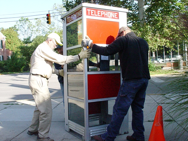 Telephone Booth Project, 2009-2010 (6 images)