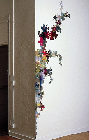 Jigsaw-puzzle-based work, 1994-2002