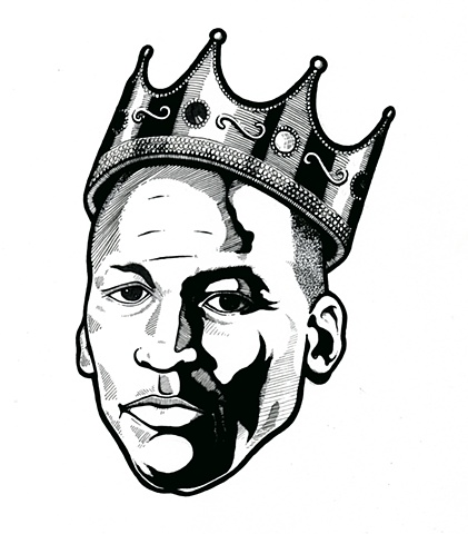 Michael Jordan w/ Crown