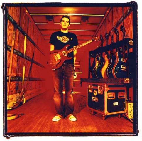 DAN ESTRIN (hoobastank) prs guitars