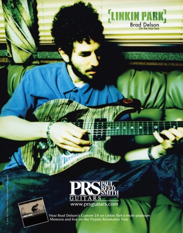 LINKIN PARKprs guitars
