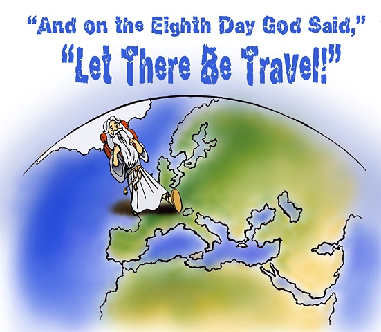 Let There Be Travel Logo