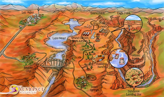 ed pollick, edward pollick, pollick, pollick art, pollick drawing, pollick cartoons, pollick artwork, pollick painting, pollock, best las vegas artists, best orange county artists, Grand canyon, grand canyon art, drawing of grand canyon, map of grand cany