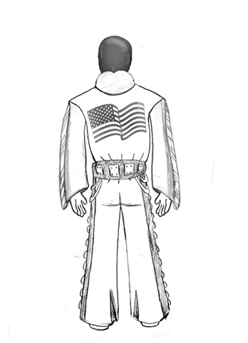 Elvis Action Figure Design