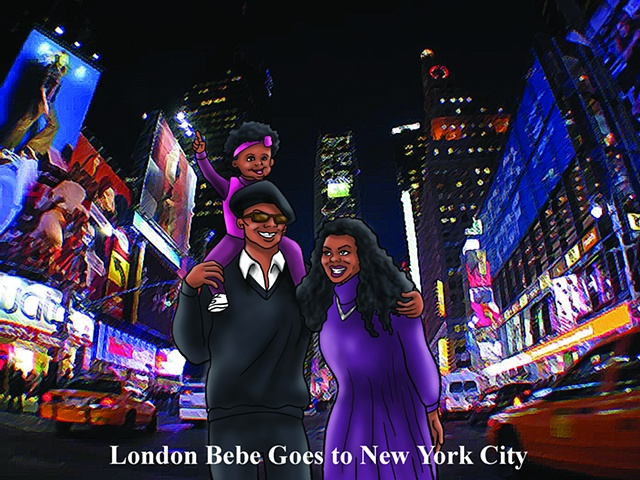 London Bebe Goes to New York City