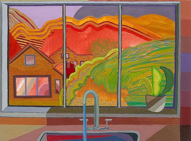 Closed Window 11 (Kitchen Sink)