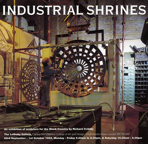 Black Country Route Industrial Shrines catalogue cover