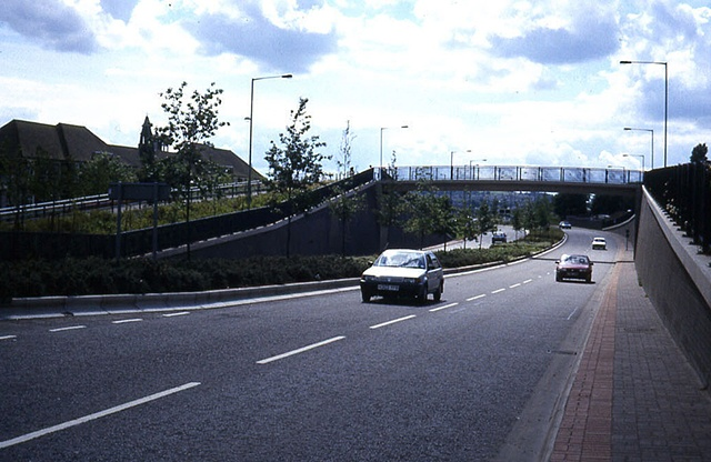 Black Country Route footbridge, Bilston