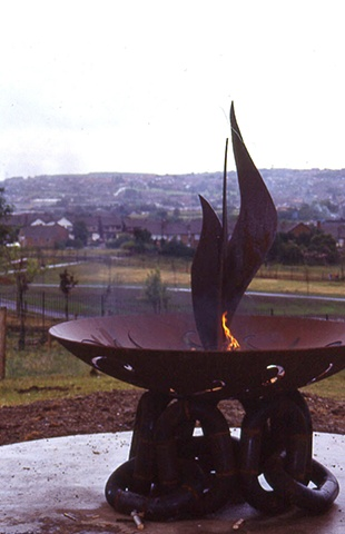 Fire Bowl Bilston ,West Midlands,UK