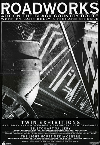 "Black Country Route ""Roadworks"" exhibition poster"
