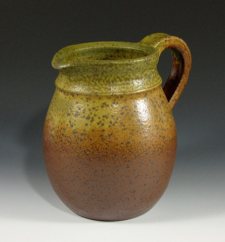 stoneware, pitcher, Carol Naughton + Associates, Environmental Graphic Design firm, Chicago