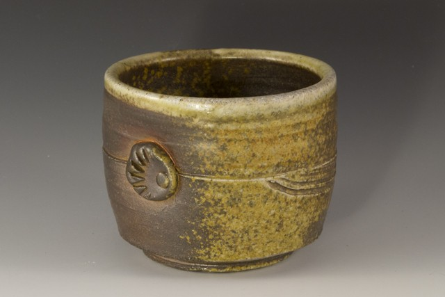 Ceramic Cup Stoneware Wood fired
