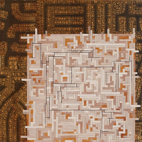 Mixed media painting 2012