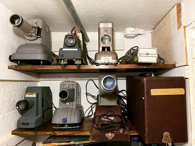 Bob Lewis's (RIP) Slide Projector Collection