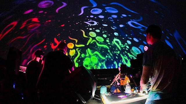 Liquid Light Lab at the Miami Dome Art Basel 2018