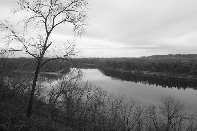 Confluence of the Minnesota and Mississippi Rivers / Bdote