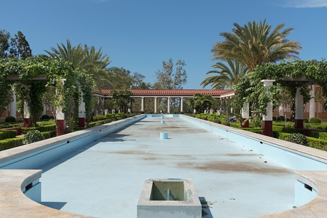 Pool, J. Paul Getty Villa, Pacific Palisades