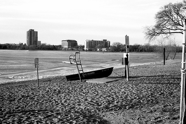 Lake Calhoun, Winter Lifeguard Station