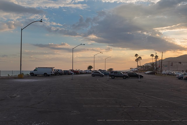 Sunset, Sunset Boulevard and Pacific Coast Highway