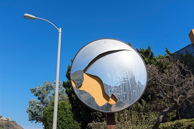 Convex Safety Mirror, Malibu