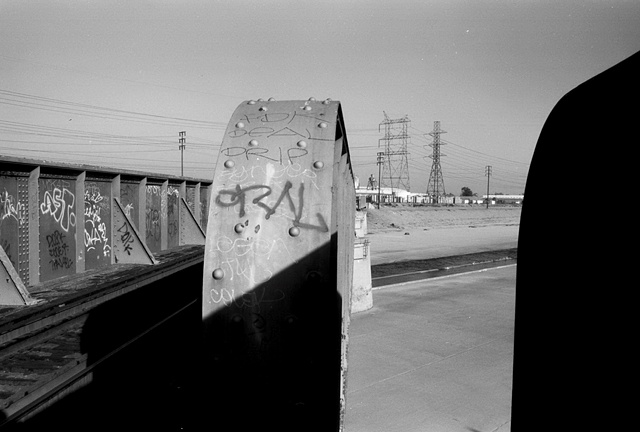 LA River, Train Bridge & Garffiti