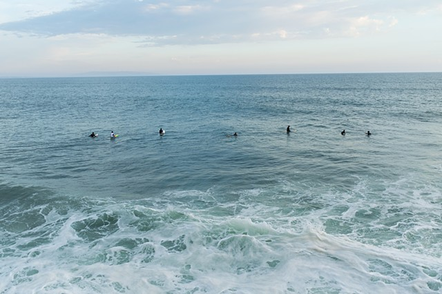 Surfers, Will Rogers State Beach, Pacific Palisades