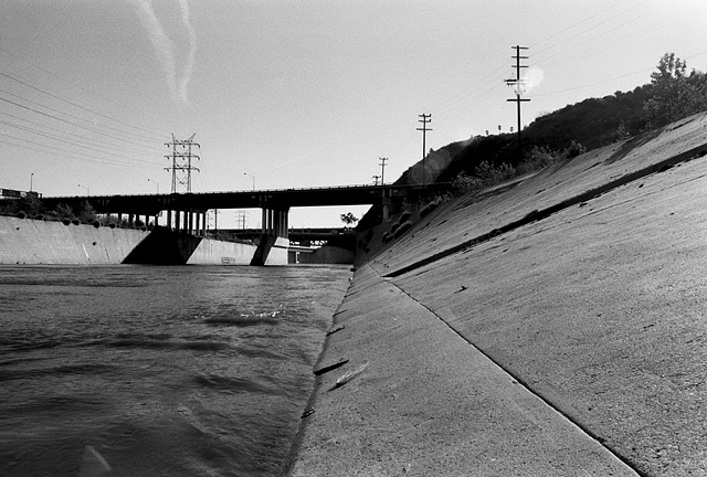 LA River, View from the Concrete Bed