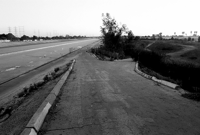 LA River, On/Off Ramp, Los Angeles, 1997