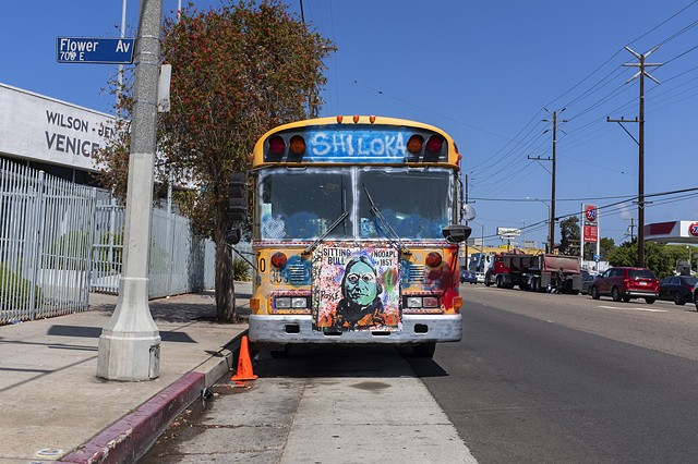 Shiloka Bus, PCH and Flower Avenue, Venice