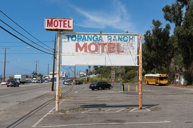William Randolph Hearst's Topanga Ranch Motel, Malibu