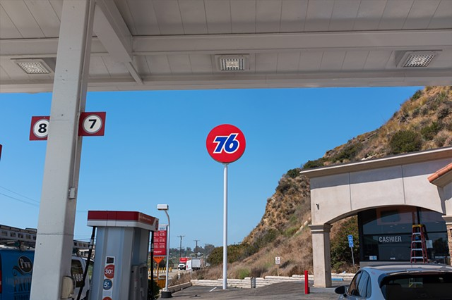 Gasoline Station, Malibu Village