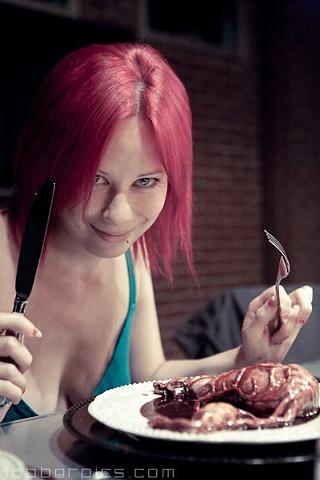 Eating Uterus