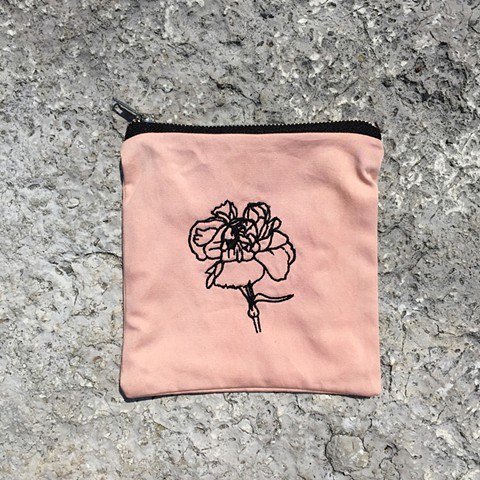 embroidered carnation, 2