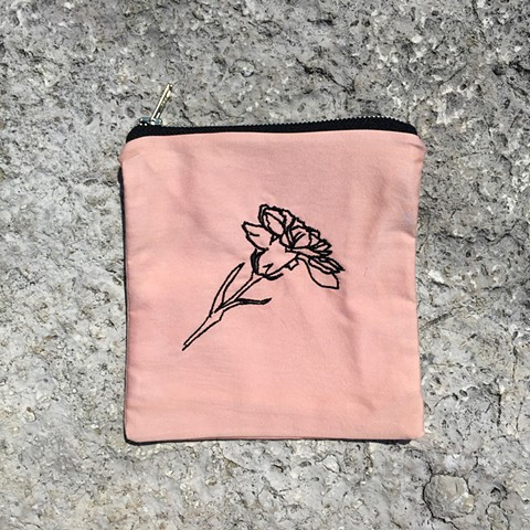 embroidered carnation, 4