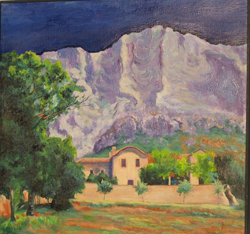 Provence Mountains