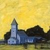 Lemon Yellow Sky Over Caspar