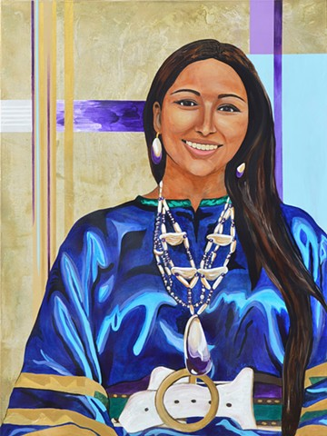 """Kelsey T. Leonard"" (Shinnecock Nation) - St. Cross College - MSc in Water Science, Policy & Management 2010 -"