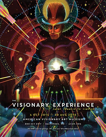 Poster for a show i was in at The Visionary Art Museum called The Visionary Experience