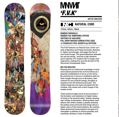 F.V.K snowboard