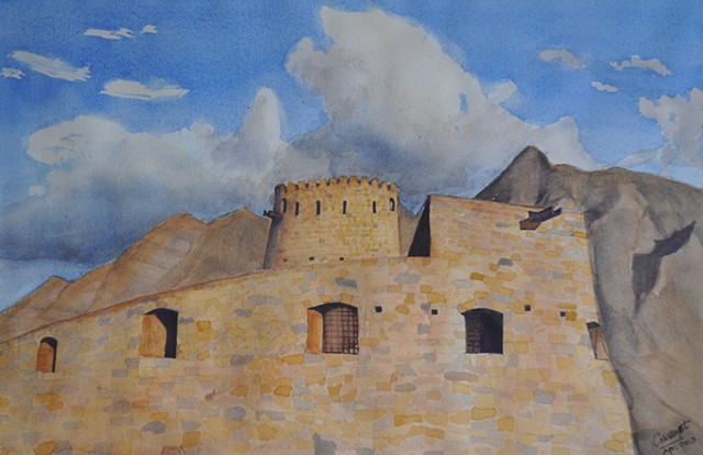 Mussandam Fort, Oman