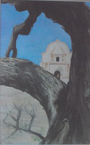 TUMACACORI MISSION, ARIZONA