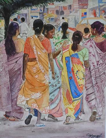 Sunday Stroll in Chennai