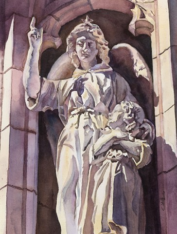 Angel, Cathedral Basilica of the Assumption