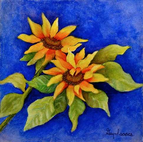 Sunflower  by Gay Isaacs