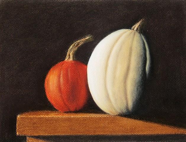 Pumpkins  by Margie Carleton